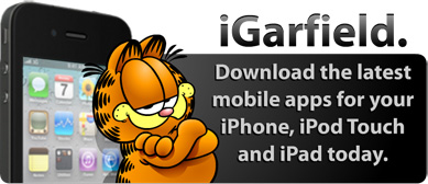 Check out the new Garfield mobile app!